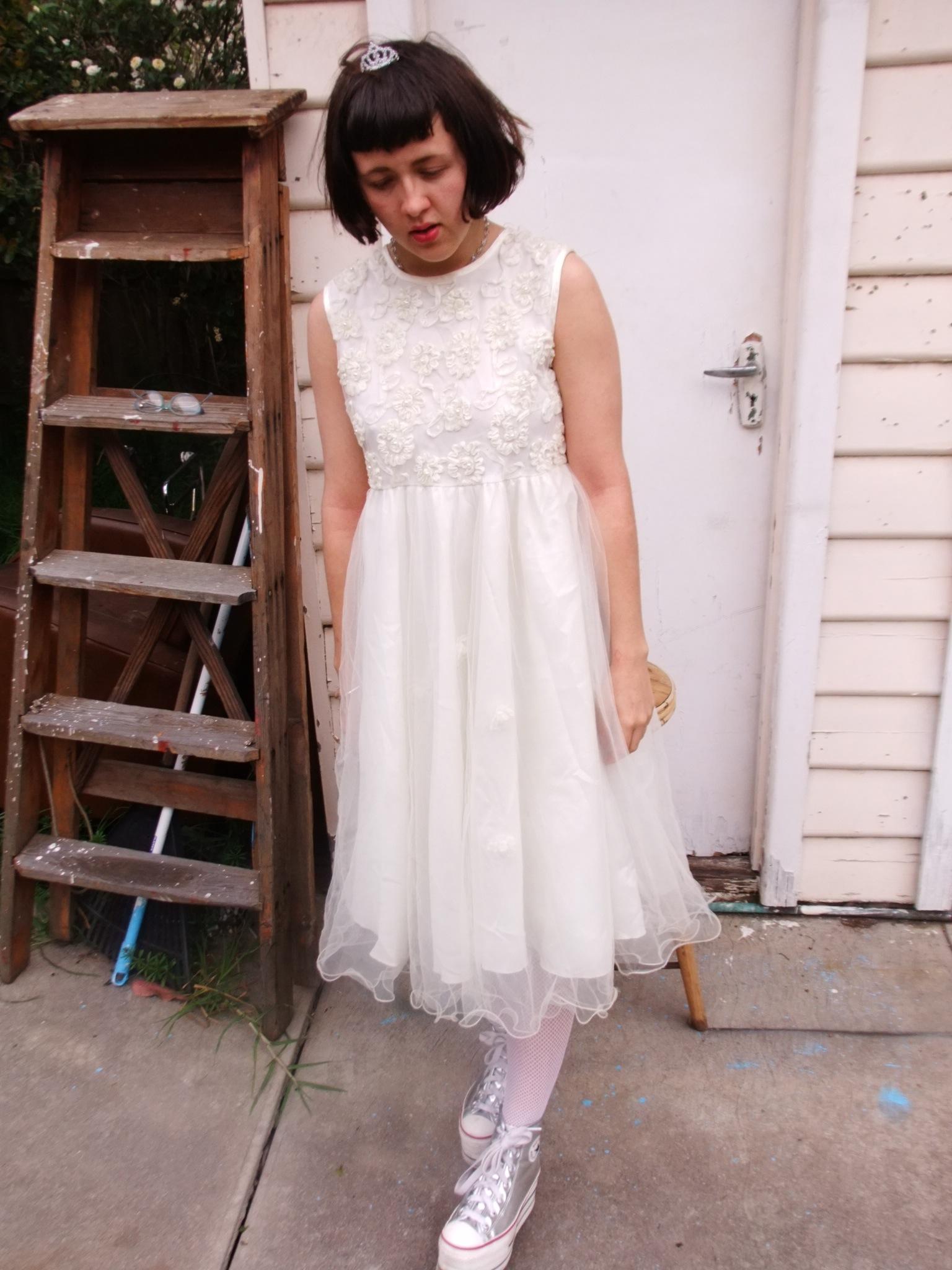 Vintage 1960s Flower Girl Dresses
