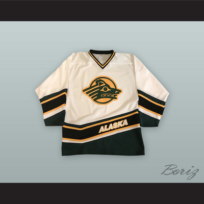 a31cd5735a0 University of alaska anchorage sea wolves white hockey jersey - Thumbnail 2