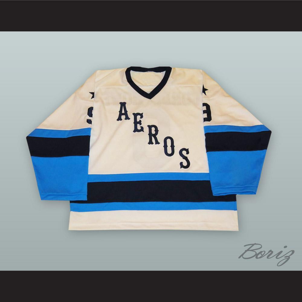 hot sale online ea7fb 6cb92 Gordie Howe 9 Houston Aeros White Hockey Jersey from acbestseller
