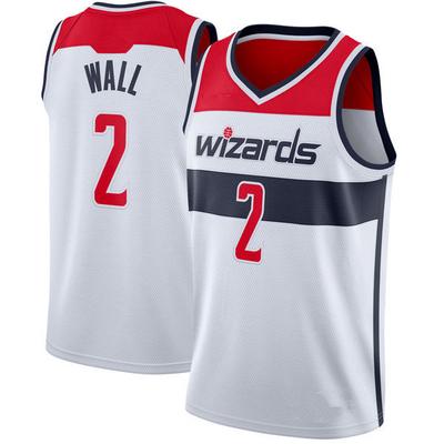 Men s washington wizards 2 john wall white 2018 19 basketball jersey -  Thumbnail 4 b1658add2