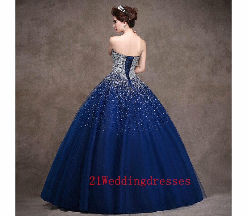 334bea0ea805 ... Real Beautiful Navy Blue Prom Dresses,Charming Long Prom Dress,Back Up  Lace Evening ...