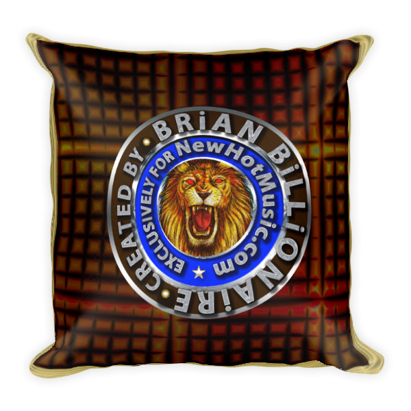 Drama Queen 18 inch Square Luxury Pillow : Free Worldwide Shipping! from  Created by Brian BillionaIre
