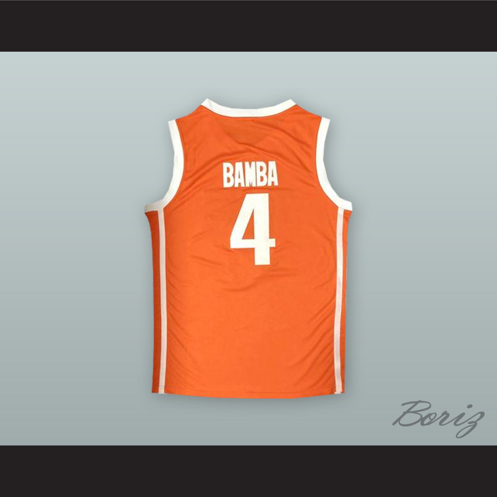 release date 890ad 9b457 Mo Bamba 4 Texas Orange Basketball Jersey from acbestseller