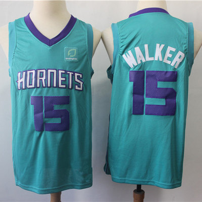 9a69cdc8f6ac Men s charlotte hornets kemba walker brand teal swingman jersey - icon  edition