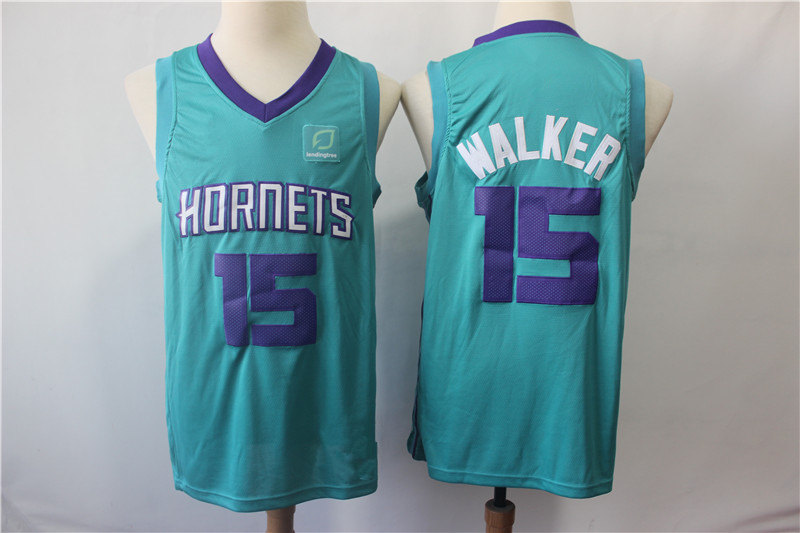 8cc3b529f07 ... get mens charlotte hornets kemba walker brand teal swingman jersey icon  edition 37272 784ff