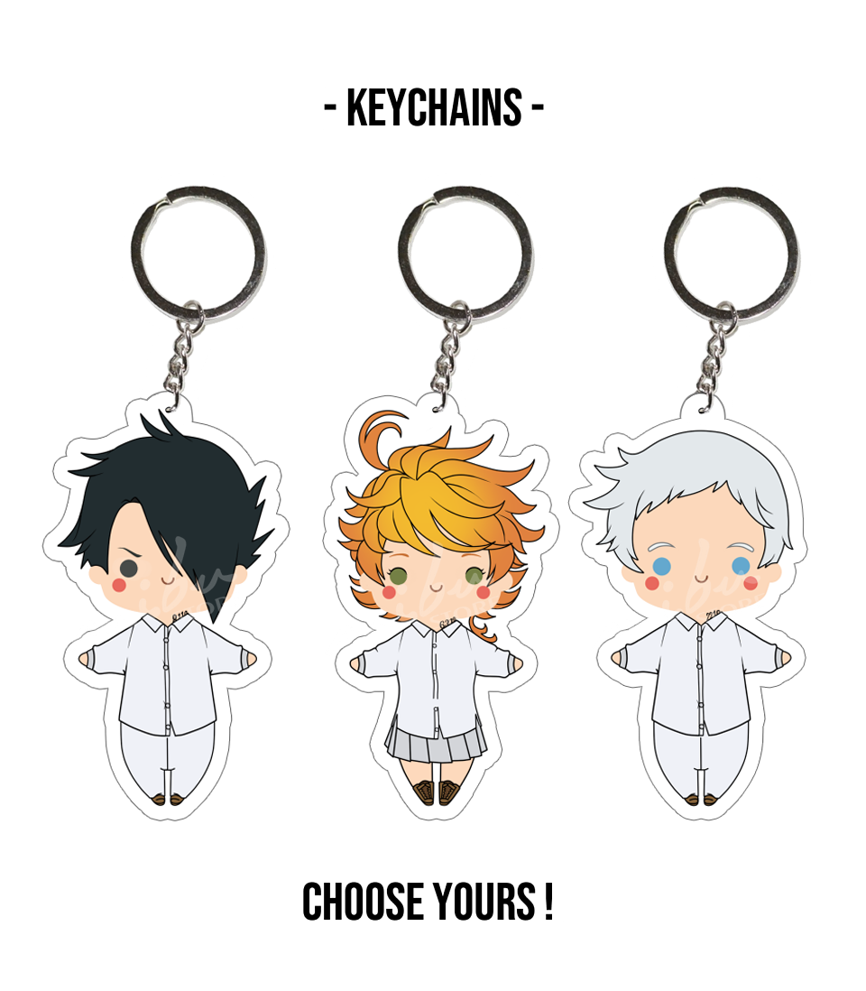 The Promised Neverland - Acrylic Keychain from MibuStore