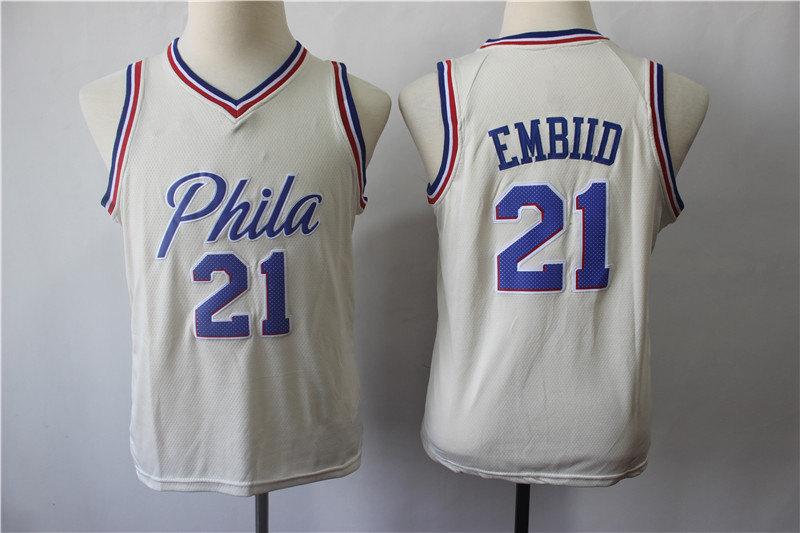74ec30c5fa7 ebay mens adidas philadelphia 76ers 21 joel embiid swingman royal blue  alternate nba jersey d7b85 5e26c  cheapest youth philadelphia 76ers joel  embiid white ...