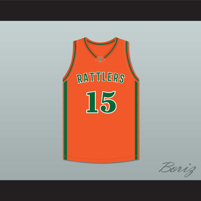 Demarcus cousins 15 leflore high school rattlers orange basketball jersey  drake- in my feelings - 43249e1ef
