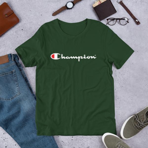 Original Champion Men/'s Classic Jersey Script T-Shirt