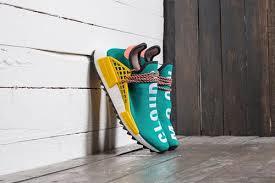 363042deb89d Pharrell Williams x adidas NMD HU Trail  Sun Glow EQT Yellow  on ...