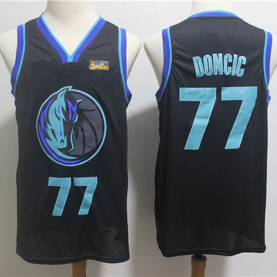 Men s dallas mavericks 77  luka doncic anthracite 201819 swingman  basketball jersey – city edition basketball 1ee057083