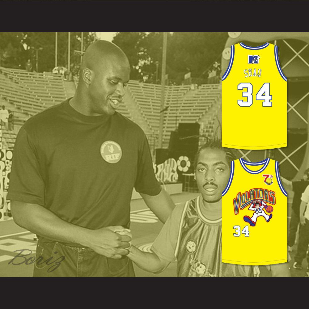 7e3dd563f55 Shaquille 'Shaq' O'Neal 34 Violators Basketball Jersey 7th Annual Rock N'  Jock B-Ball Jam 1997 · acbestseller · Online Store Powered by Storenvy