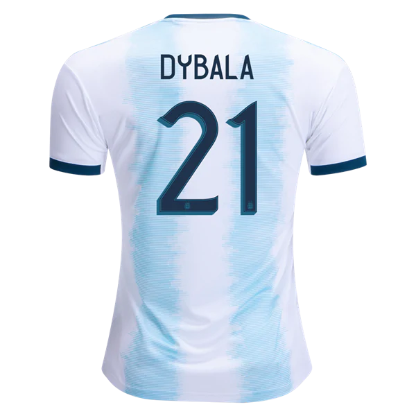 new product d3378 c93ae Dybala #21 Argentina 2019 National Team Home Soccer Jersey AFC Men's  Stadium Shirt from HoHo Jersey Collection