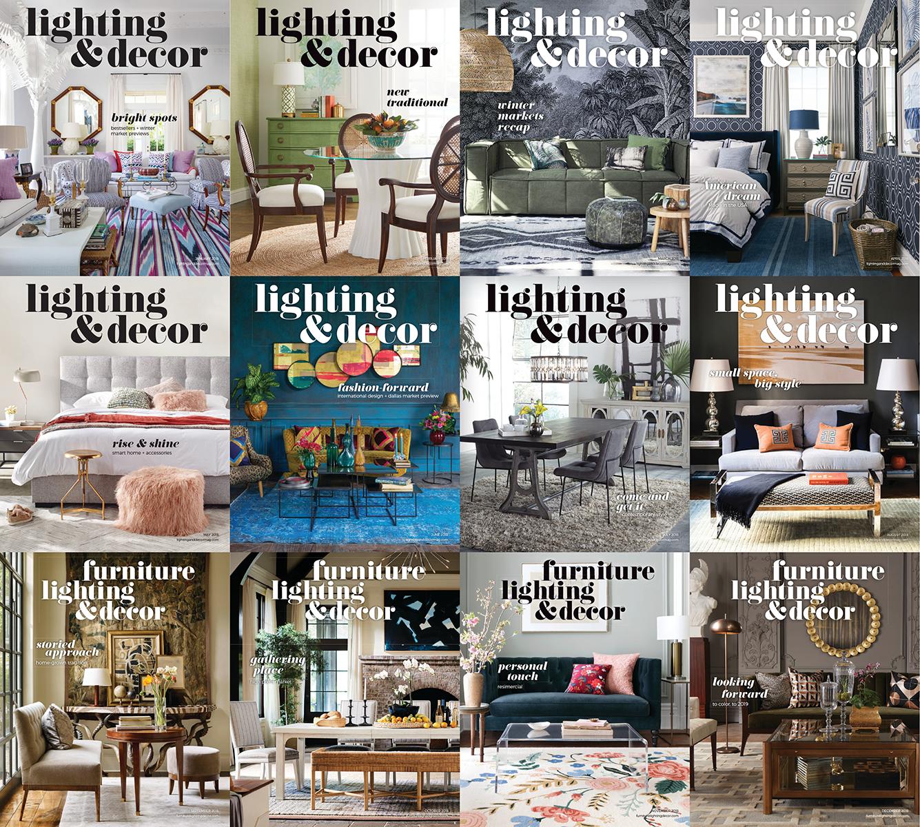 Lighting & Decor - 2018 Full Year Issues [PDF] from eBooks & Magazines