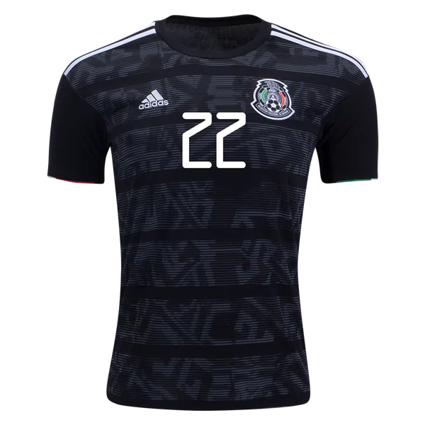the latest 5c78e 94c37 Hirving Lozano 22 Mexico 2019 National Team Home Soccer Jersey Men's Soccer  Stadium Shirt from HoHo Jersey Collection