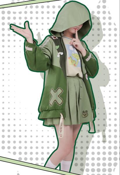 My Hero Academia Asui Tsuyu Casual Cosplay Costume Full Set Sold By Cosplay Head