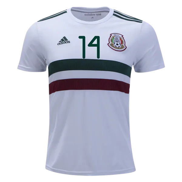6b21494f645 Chicharito  14 Mexico 2019 National Team Away Soccer Jersey Stadium ...