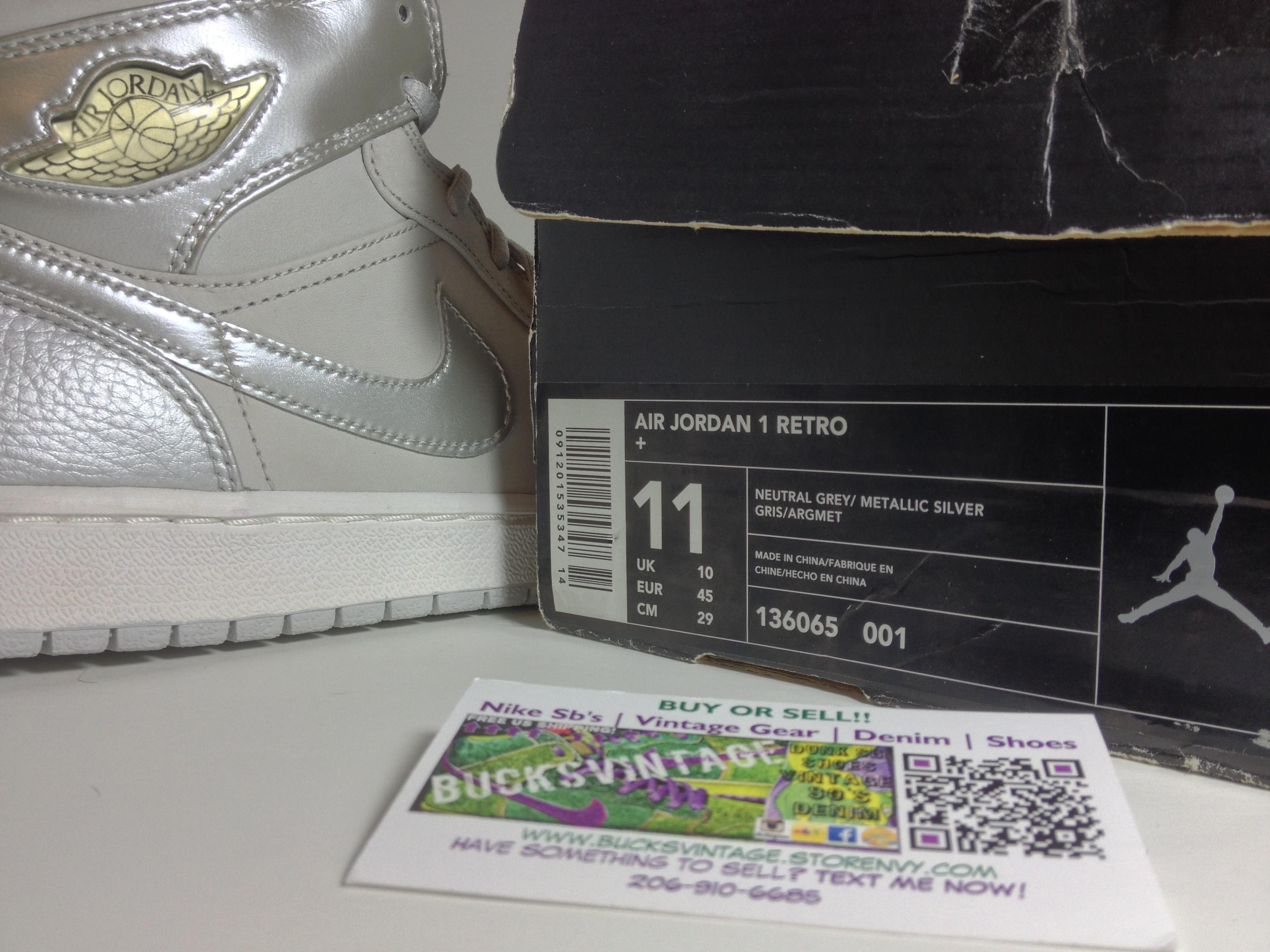 DS New 2001 Nike Air Jordan 1 Retro+  136065- ... 73fad8679