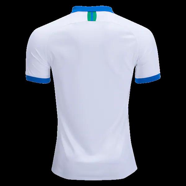 5fe98bea753 Barzil 2019 Away Jersey White Men s Brazil Soccer Alternate Jersey ...