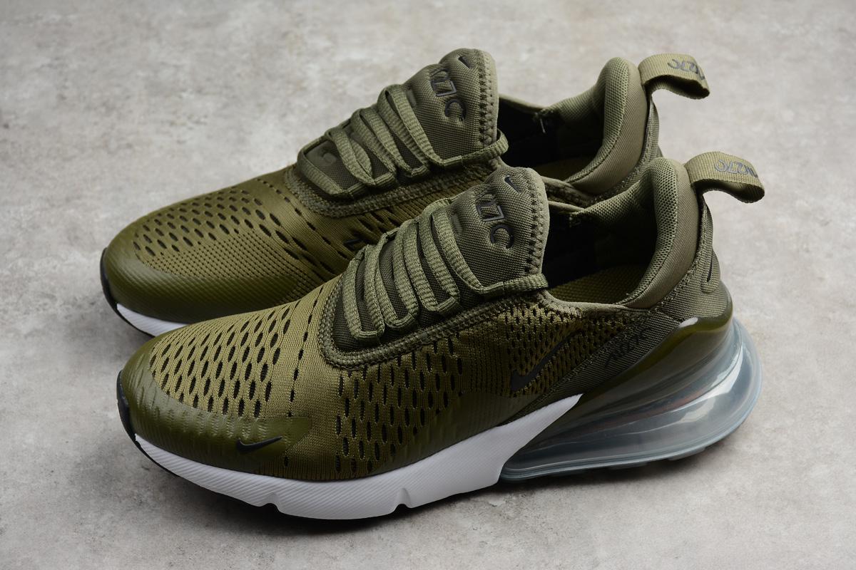 1a866ecc73 Nike Air Max 270 Medium Olive Running Shoes on Storenvy