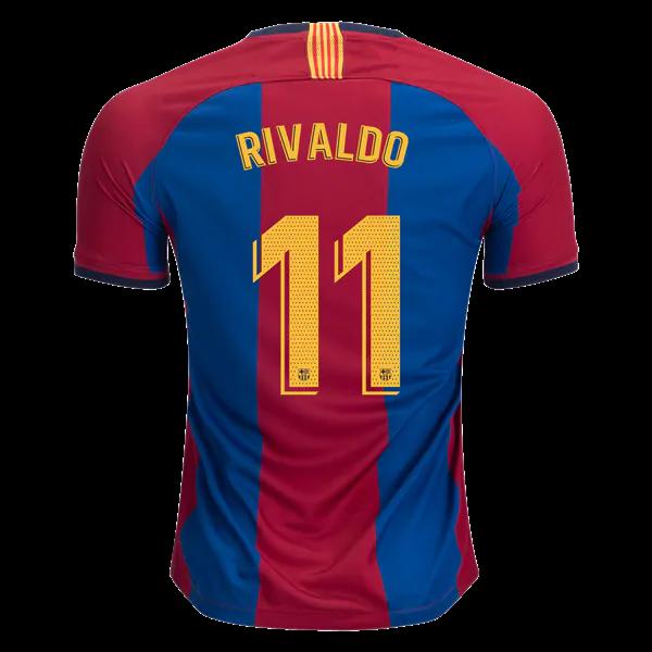 50598f1c1 Rivaldo Barcelona 2019 Limited Edition Soccer Jersey Men s Stadium ...