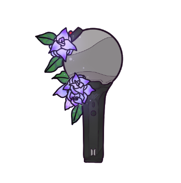 Sticker Flowery Magic Bts Army Bomb Sold By Momowarii S On Storenvy