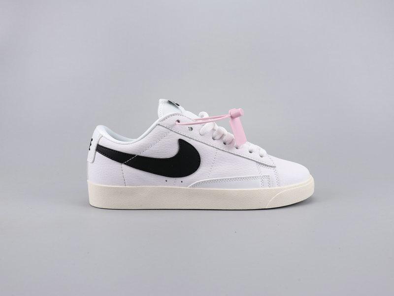 hot sale online f703a d6d82 NIKE BLAZER LOW PRM Women Men Fashion Sports Leisure Running Shoes  Basketball Shoes