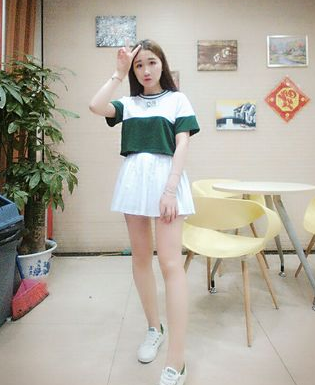 Lovely baseball T-shirt + pleated skirt two-piece outfit · Shopgogogo ·  Online Store Powered by Storenvy