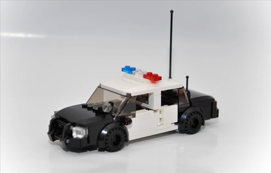 City Custom Police Car on Storenvy