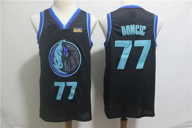 e04ddd110 2019 Youth Dallas Mavericks  77 Luka Doncic Basketball Jersey-City Edition