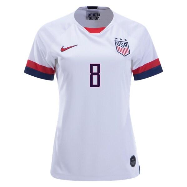 brand new b0817 66c65 Julie Ertz #8 Women's US National Team Home Soccer Jersey USWNT WWC Stadium  Shirt sold by JerseyHunt