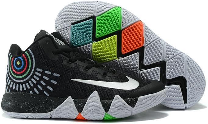 newest 18670 2a867 2017 Nike Kyrie 4 Black White Grey For Sale from BELLDRESS