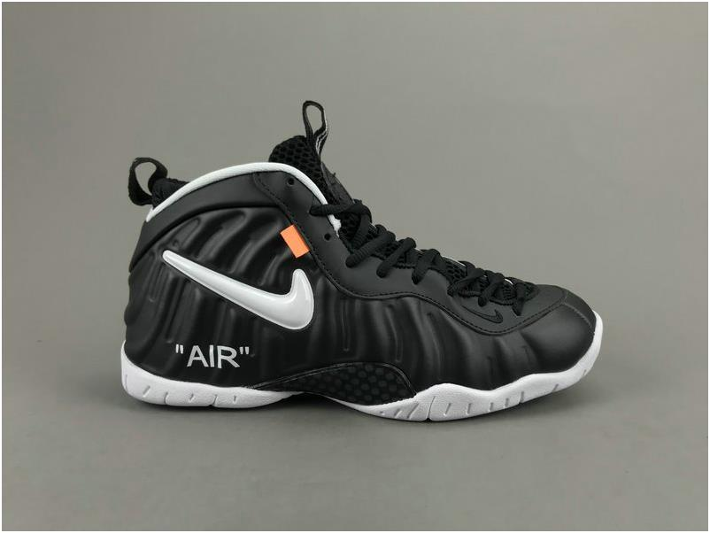 quality design 316ce 7dd73 The Lastest Footwear Custom OFF WHITE x Nike Air Foamposite Pro Dr. Doom  Black White Basketball Shoe Factory Outlet from BELLDRESS