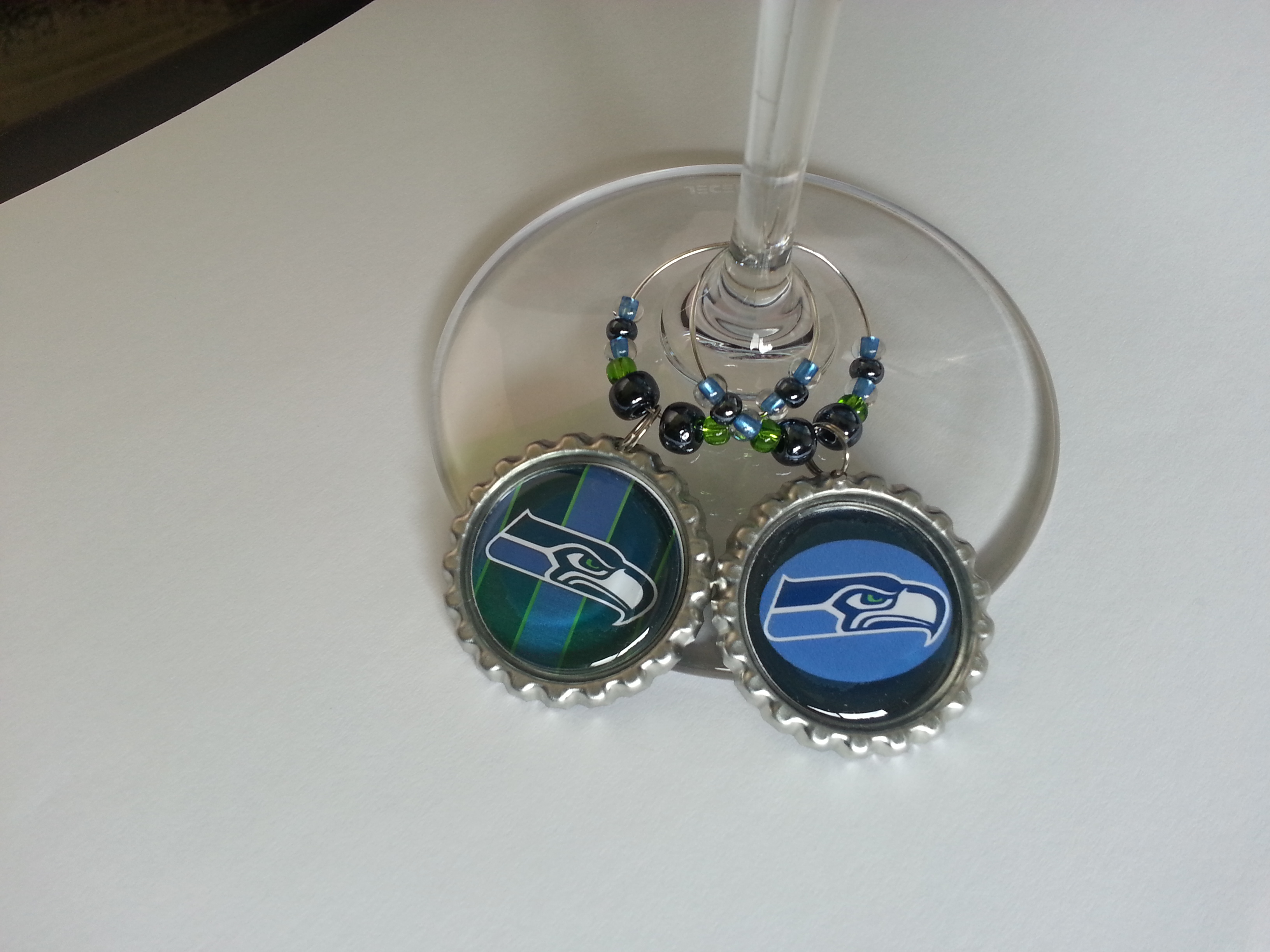 san francisco 054aa 1c8a3 Seattle Seahawks Gift Sets - Wine Charms sold by Party Supplies 2