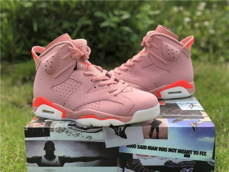 best service f5e5b 915e5 Air Jordan 6 Retro 'Millennial Pink Aleali May sold by Hood Pioneers