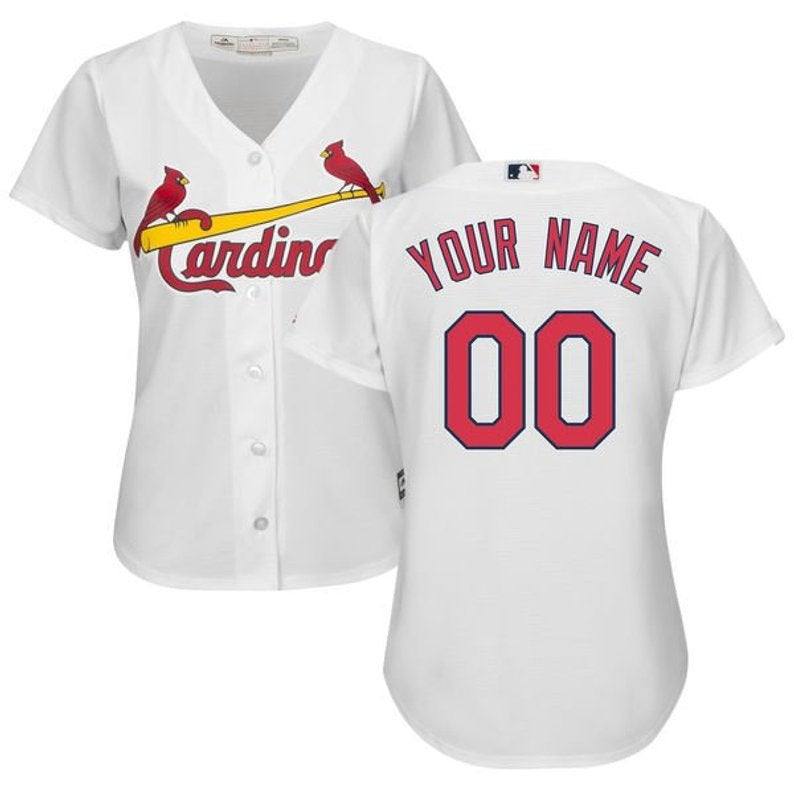 best website 63d36 df038 Women St. Louis Cardinals Custom Name & number Cool Base Baseball Jersey  2019 sold by New tuboshop