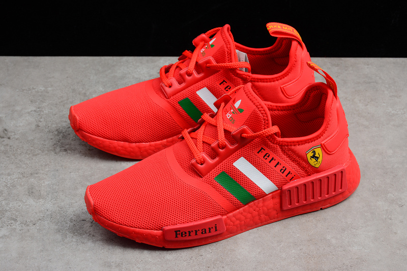 various colors a62bd d94d5 Ferrari X Adidas NMD Boost R1 Red runner shoes sold by ivicente