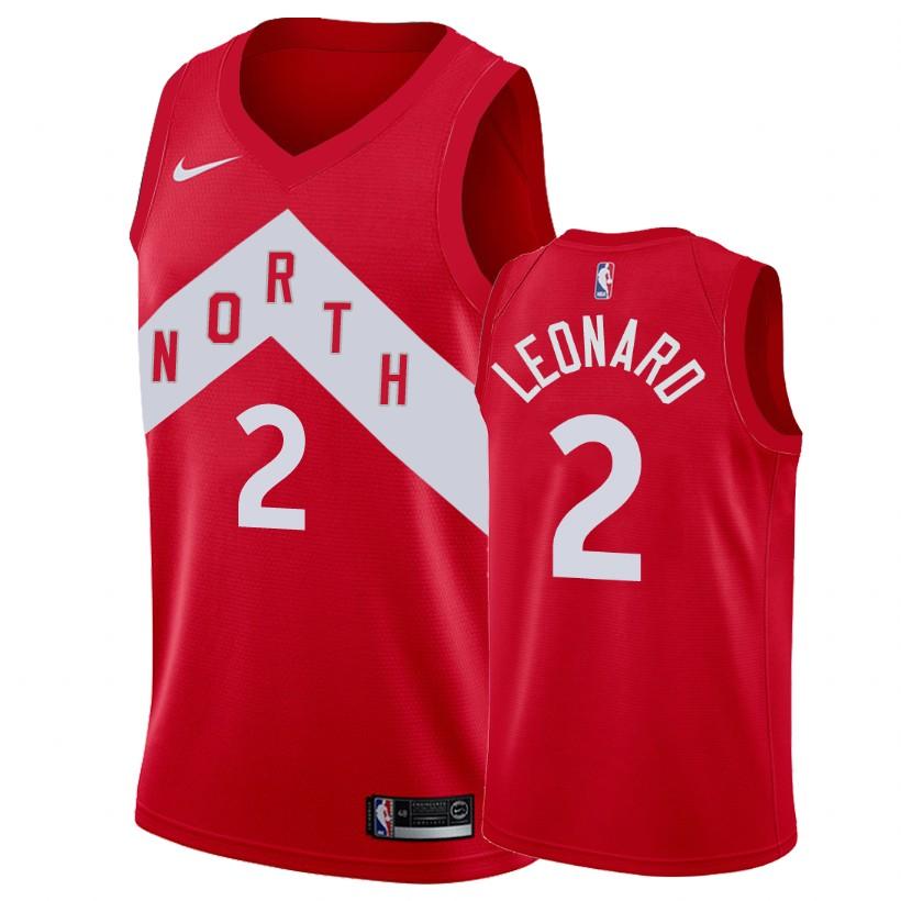 new products 1dc1f 61a41 Men's Toronto Raptors Kawhi Leonard Swingman Jersey Earned Edition