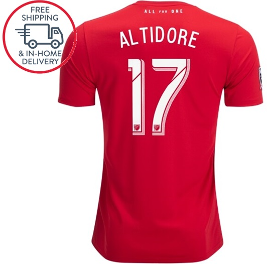 outlet store 90d6b 8c0e1 Jozy Altidore #17 Toronto FC 19 20 jersey Home men Soccer shirt Red from  isacctex