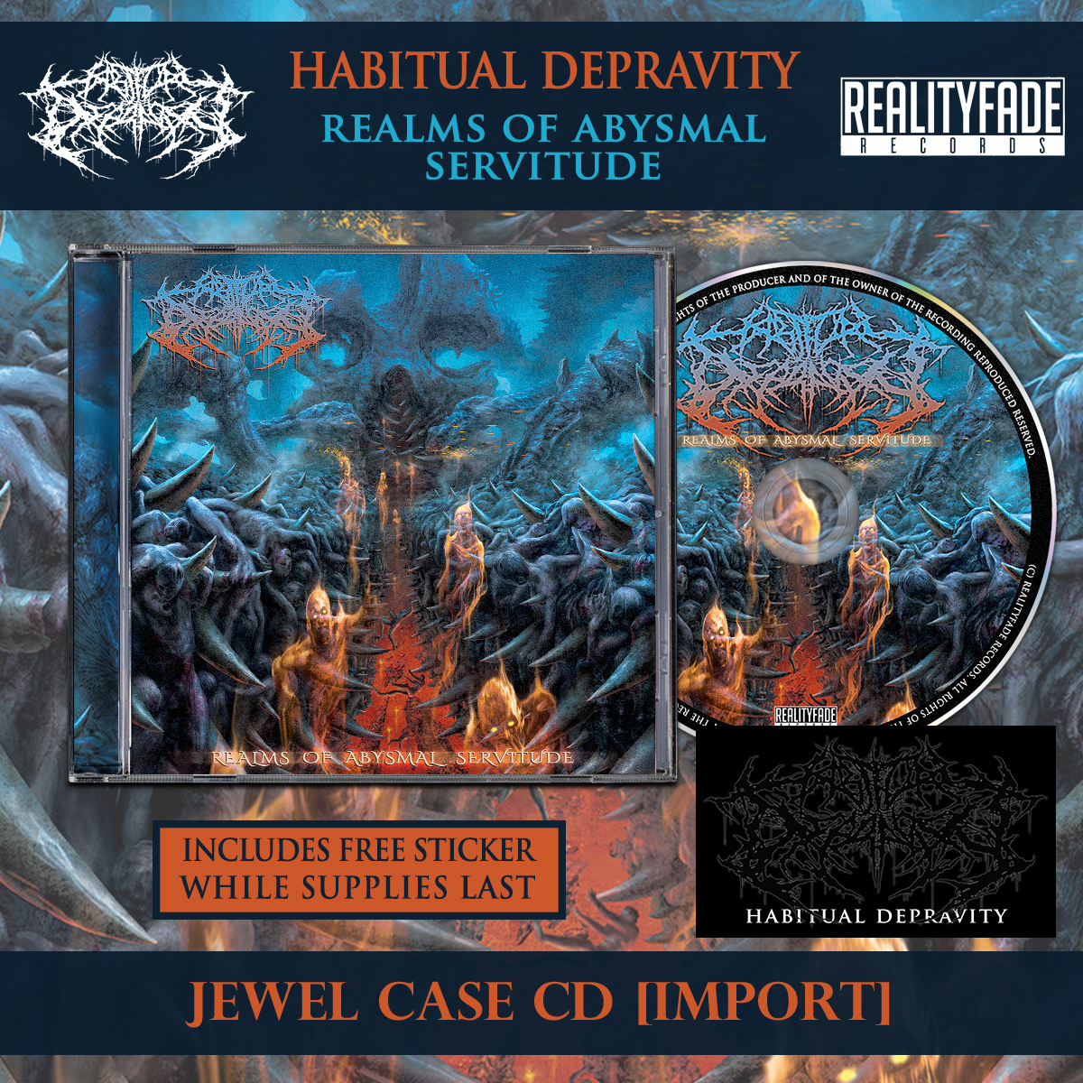 Habitual Depravity - Realms of Abysmal Servitude [Import] from Chugcore