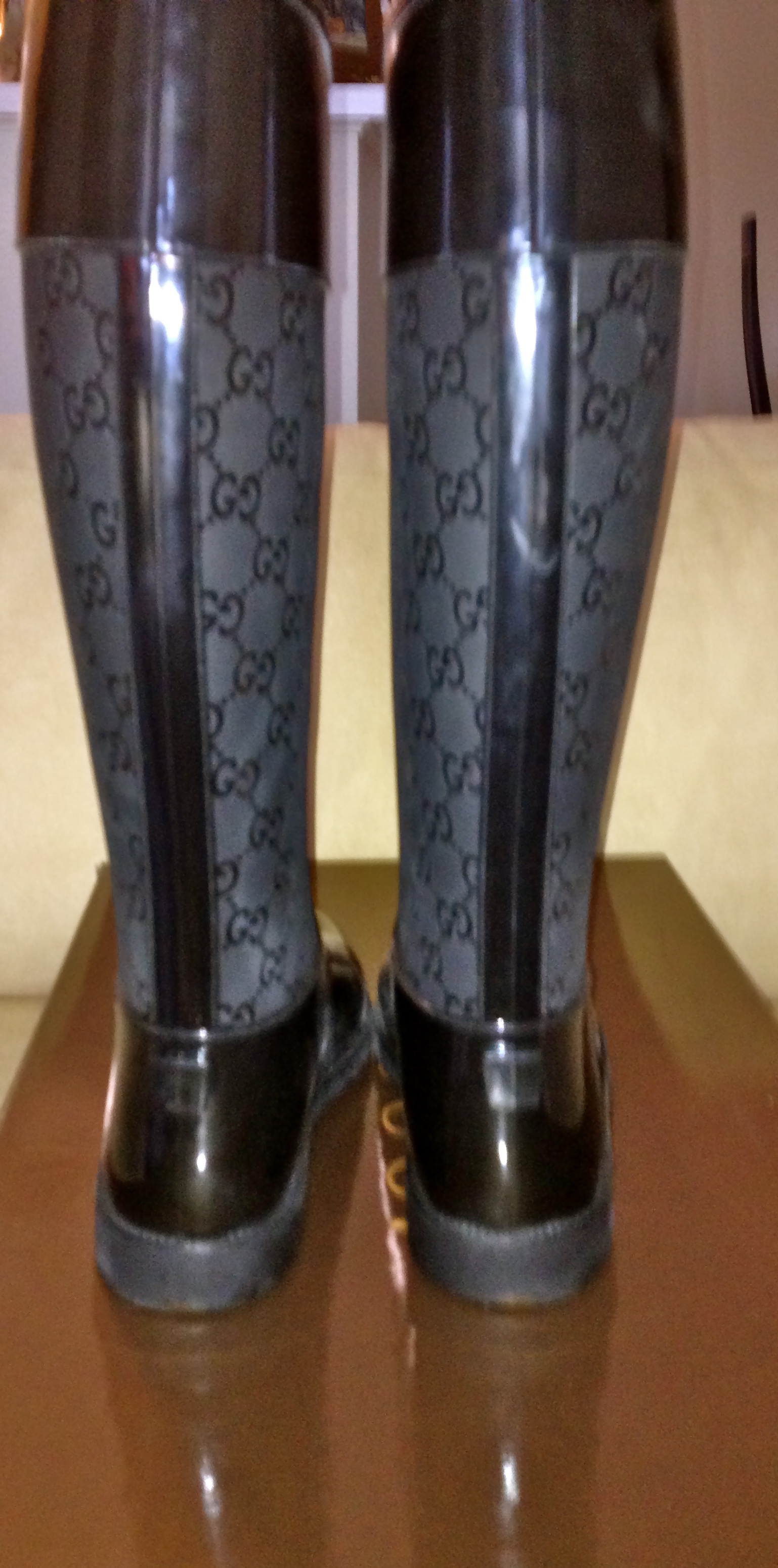 de5c671e Gucci Rain Boots Size 9 from Shop Posh Closet