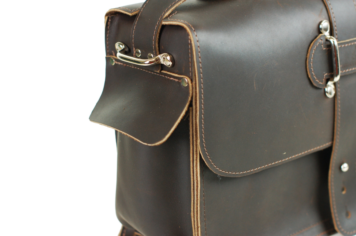 31ed042a87 Men s Leather Satchel - Leather Messenger Bag - Leather Laptop Bag - Rustic  Industrial Design ...