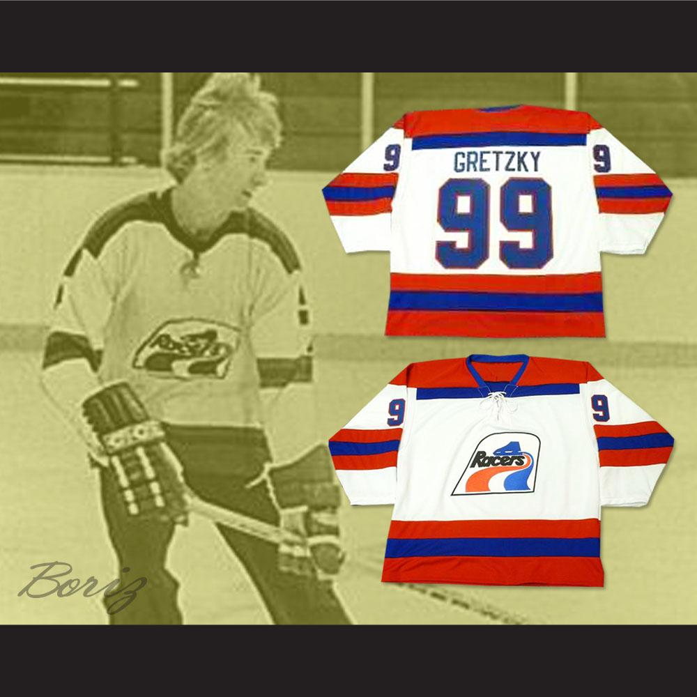 ... Wayne Gretzky Indianapolis WHL 99 Hockey Jersey Stitch Sewn New -  Thumbnail 2 04ffec4162a