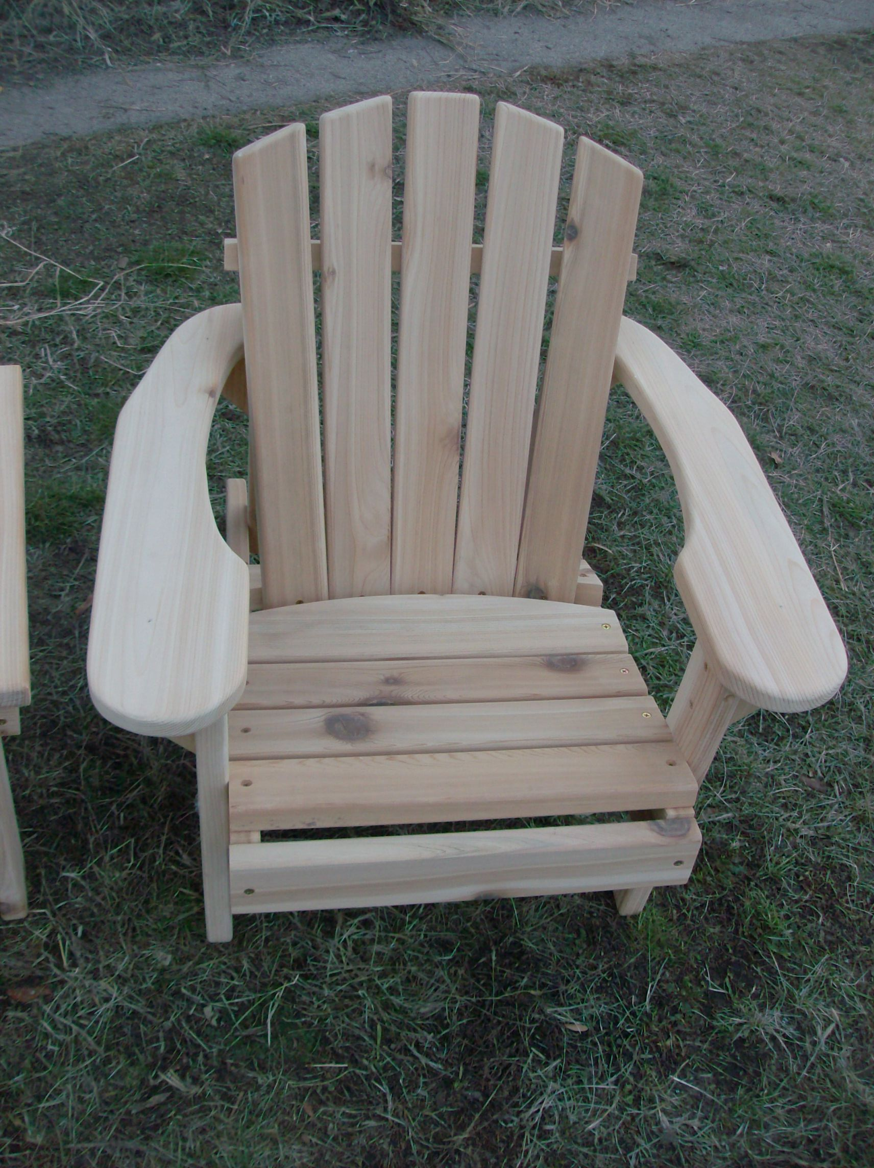 Admirable Kids Chunky Adirondack Chair Hand Crafted In Natural 1 Inch Thick Western Red Cedar Ocoug Best Dining Table And Chair Ideas Images Ocougorg