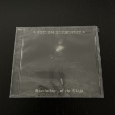 "Satanic warmaster- ""revelation ...of the night"" cd"
