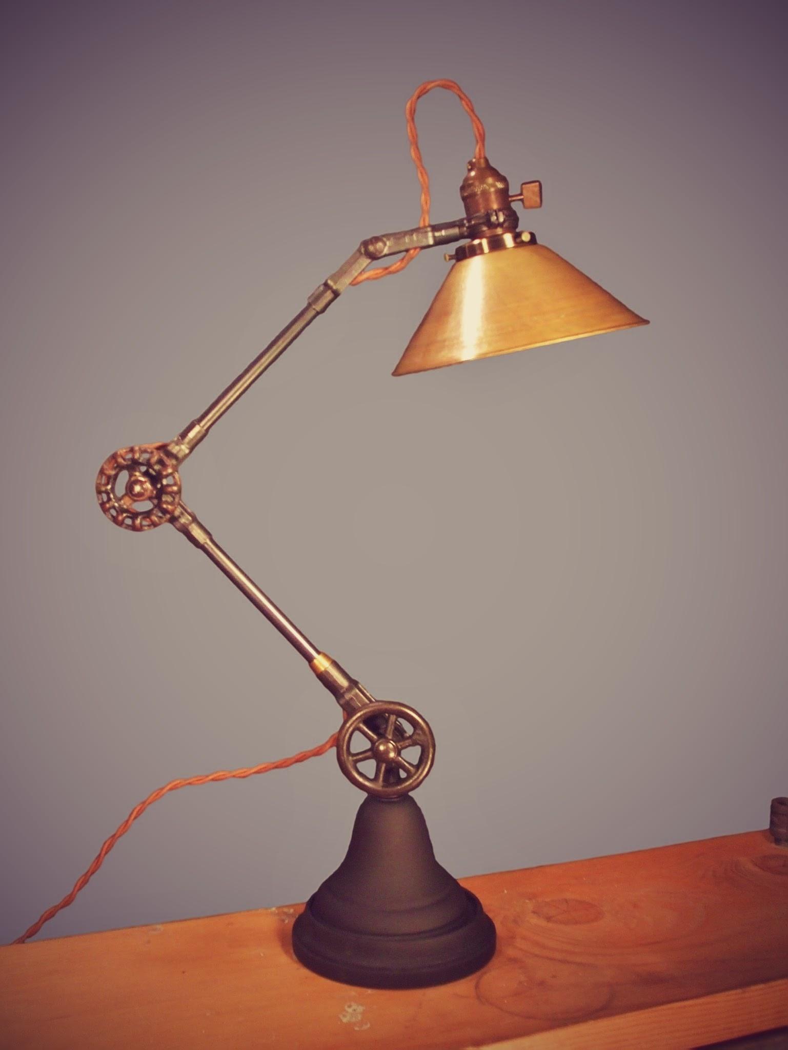 vintage industrial style desk lamp dw vintage lighting co online store powered by storenvy. Black Bedroom Furniture Sets. Home Design Ideas