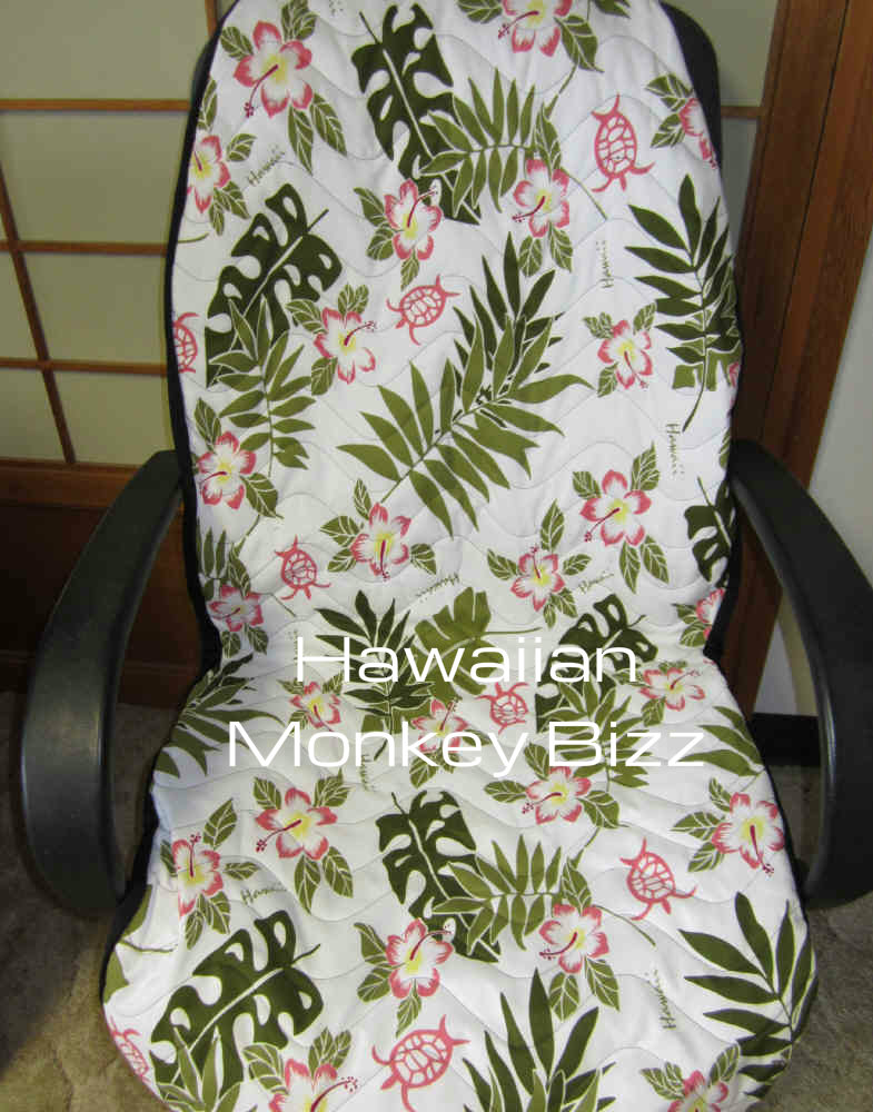 Phenomenal White Turtle Fern Hawaiian Seat Covers 2Pc Water Uwap Interior Chair Design Uwaporg