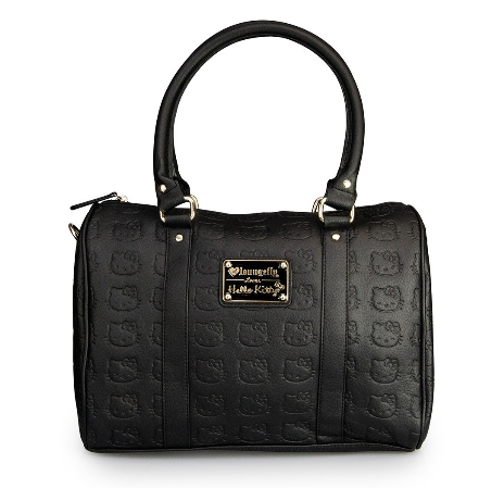 17a53b249c Hello Kitty Black Embossed Satchel · Trends International · Online ...