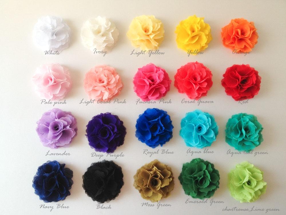 70mm Chiffon Mens Flower Boutonniere Buttonhole For Wedding